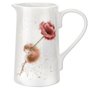 Mouse Poppy 2-Pint Jug from Royal Worcester