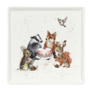 Woodland Party Square Plate