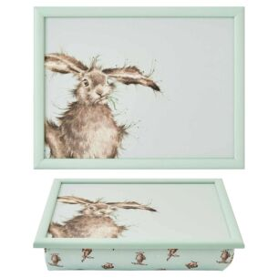 'Hare-Brained'  Hare Lap Tray