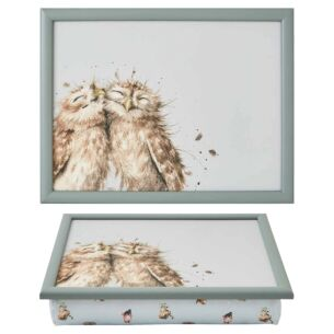 'Birds Of A Feather' Owl Lap Tray