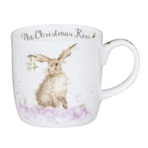 Wrendale Christmas Kiss Mug From Royal Worcester