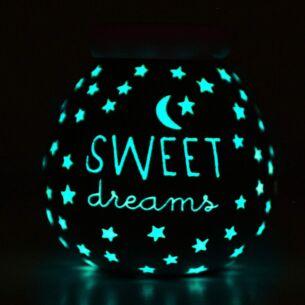 Sweet Dreams Pink Glow in the Dark Money Pot