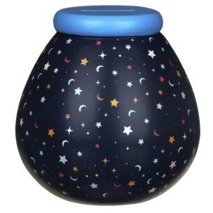 Moons & Stars Glow In The Dark Money Pot