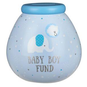 Little Elephant Baby Boy Fund Money Pot