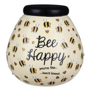 Bumblebee 'Bee Happy' Money Pot
