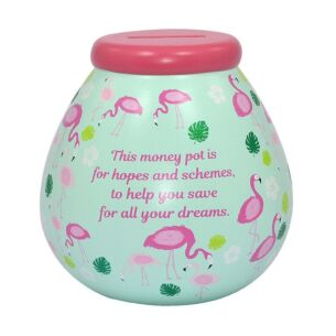 Flamingo Money Pot