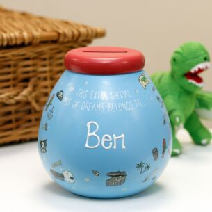 Personalised Pirates Money Pot