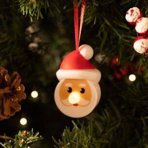 Set of 2 Christmas Character Tea Lights Santa / Snowman