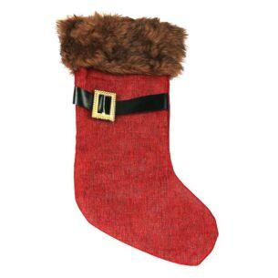 Red Santa Boot Christmas Stocking