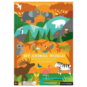 Sticker Activity Set – My Animal World