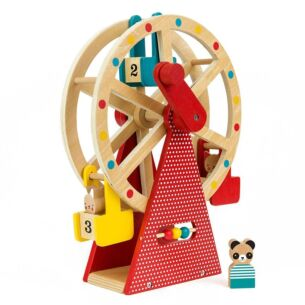 Carnival Play Set Wooden Ferris Wheel