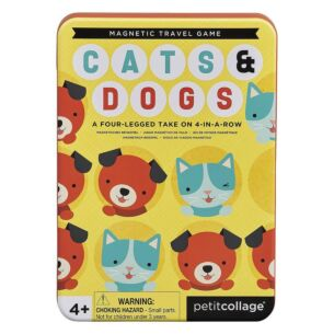Petit Collage Cats & Dogs - Magnetic Travel Game