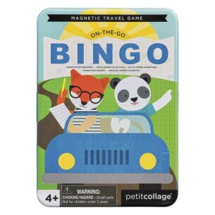 Petit Collage On-the-Go Bingo Magnetic Travel Game