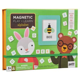 Petit Collage Magnetic Play & Learn - Alphabet