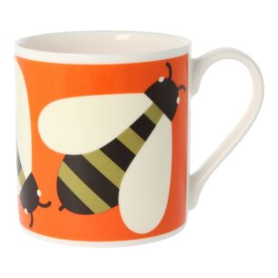 Orla Kiely Busy Bee Orange Large Mug