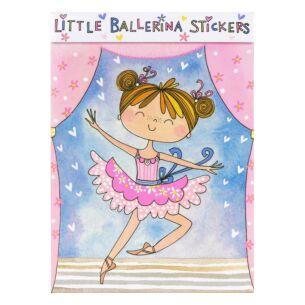 Little Ballerina Sticker Book