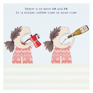'Wine Time' Lockdown Card