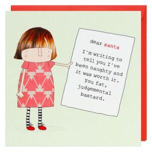 'Dear Santa' Christmas Card
