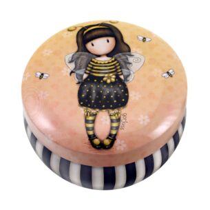 Gorjuss Bee-Loved Trinket Tin