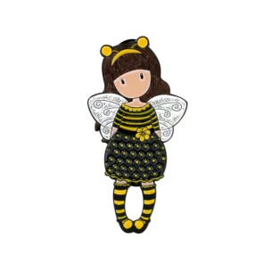 Gorjuss Bee-Loved Enamel Pin