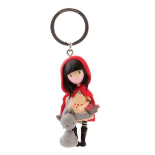 Gorjuss Little Red Riding Hood Figurine Keyring