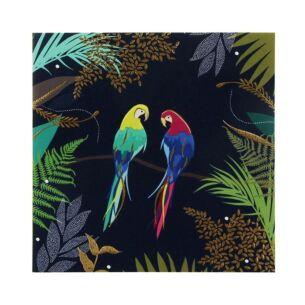 Sara Miller Parrots Card