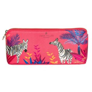 Sara Miller Tahiti Zebra Large Pencil Case