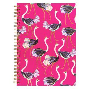 A5 Ostrich Notebook