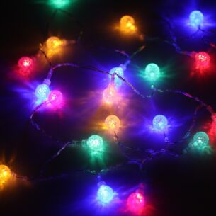 20 Battery Operated Multi-Coloured LED Lights