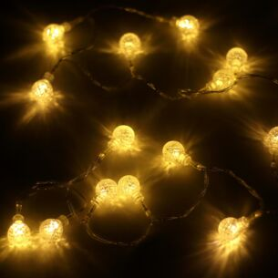 20 Battery Operated Warm White LED Lights