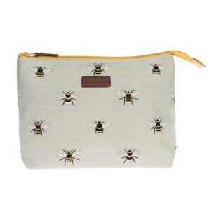 Busy Bees Canvas Large Wash Bag
