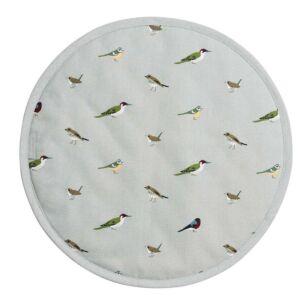 Garden Birds Circular Hob Cover