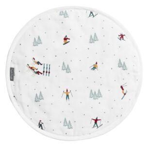 Skiing Circular Hob Cover