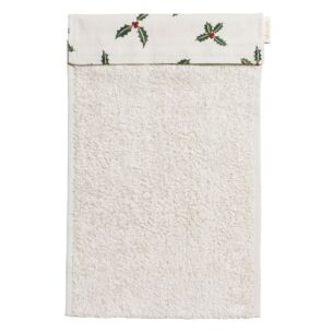 Sophie Allport Christmas Holly & Berry Roller Hand Towel