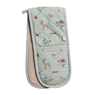National Trust Woodland Double Oven Glove