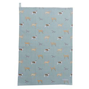 Speedy Dogs Tea Towel