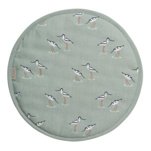 Coastal Birds Circular Hob Cover