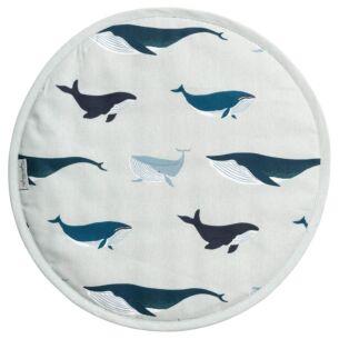 Whales Circular Hob Cover