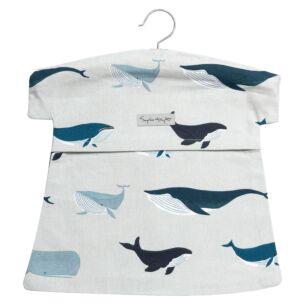 Sophie Allport Whales Peg Bag