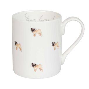 Pug 'Pug Life!' Standard Mug