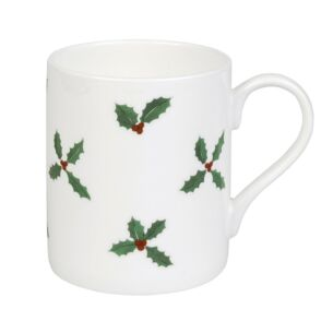 Sophie Allport Christmas Holly And Berry Standard Mug
