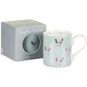 Chicken & Eggs Coloured Mug