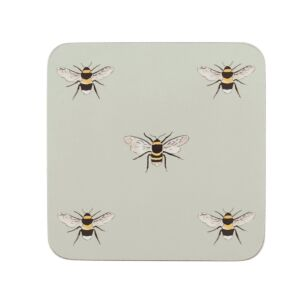 Sophie Allport Four Boxed Bees Coasters