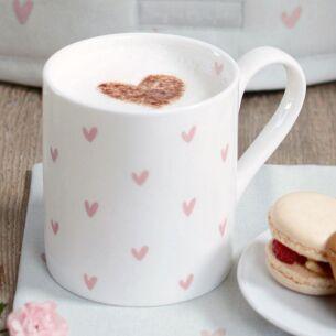 Sophie Allport Hearts Pink Boxed Mug