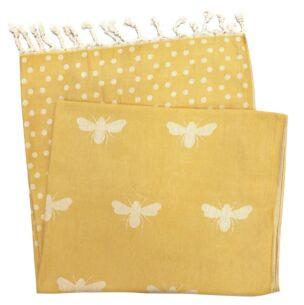 Sophie Allport Bees Hammam Towel