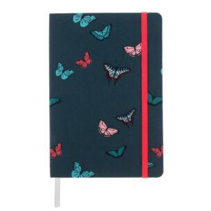 Sophie Allport Butterflies A5 Fabric Notebook