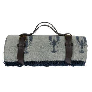 Sophie Allport Lobster Knitted Picnic Blanket