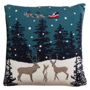 Sophie Allport Home for Christmas Knitted Statement Cushion