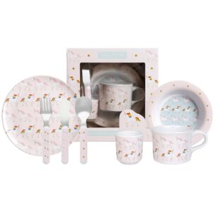 Unicorn Children's Melamine Set