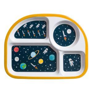 Space Melamine Divider Plate